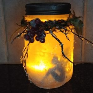 Captured Winter Fairy Jar